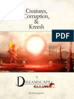 Creatures Corruption and Kreesh