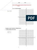 graphing systems of equations  autosaved