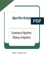 L07-AlgorithmAnalysisCorrectnessandefficiency