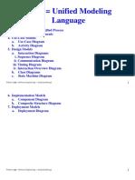 UML Goals&Outline