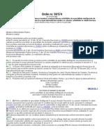 ordinul numarul 58 - tarife pentru activitati cadastrale.doc