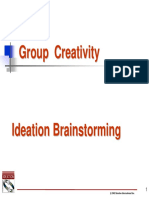 Ideation Brainstorming