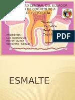 Exposicion Esmalte, Dentina & Pulpa