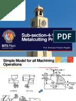 Sub Section 4 1 Machining Process