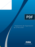 reglamento organizacion fifa