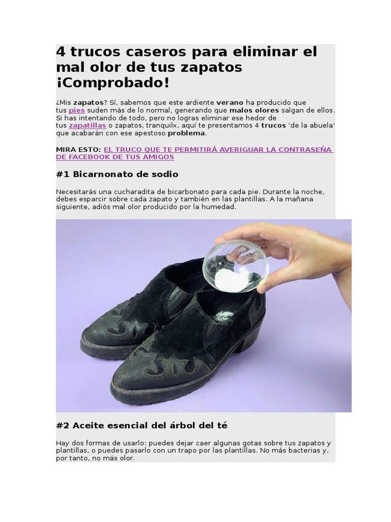 Trucos para eliminar el mal olor de las zapatillas de los niños