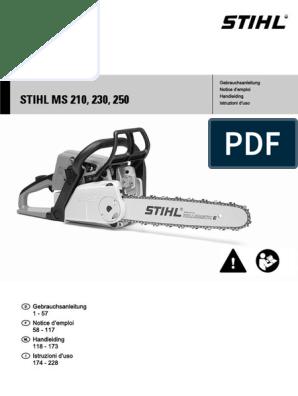 MS 190 T MS 180 Gewicht 19 g Stihl Krallenanschlag MS 170 MS 171 MS 181