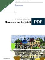 Bensaid, Daniel. Marxismo Contra Totalitarismo