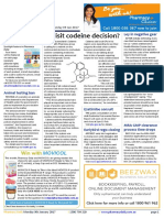 Pharmacy Daily for Mon 09 Jan 2017 - Revisit codeine decision?, FDA hits deceptive adverts, Ley in negative gear, Weekly Comment and much more