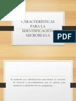 Unidad II Identificacionmicrobiana