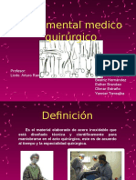 Material Medico Quirurgico