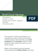 Excel Review 2016 Spring