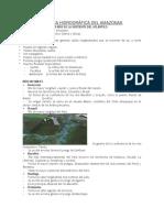 Vertiente Hidrografica Del Amazonas Teoria