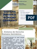 Sistema Juridico Romano Germanico