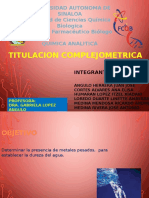 Titulacion complejometrica