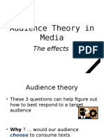 audience theory in media