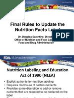 Webinar Cambios en Etiquetado FDA