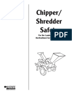 Chipper-shredder Safety Manual