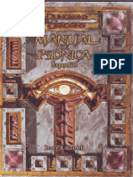 Manual de Mago Psionica Expandido
