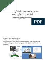 Simulação de Desempenho Energético Predial v0.1