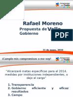 Promesas de Campaña RMV