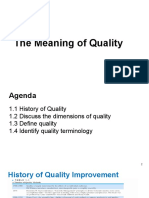 Meaning of Quality