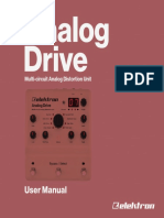 Elektron Analog Drive User Manual