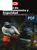 Maintenance Manual A106972 RevAH Spanish