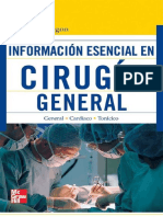 Informacion Esencial en Cirugia General