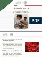 Anemia en La Adolescencia