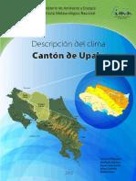 Climatología Cantón de Upala