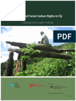REDD+ and Forest Carbon Rights in Fiji - Background Legal Analysis - 2013 - GIZ SPC