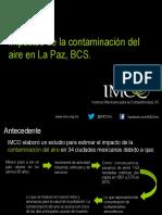 Impacto Contaminacion Aire La Paz BC PPT