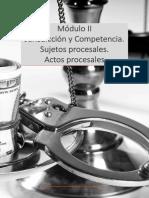 Derecho Procesal Penal I Módulo II