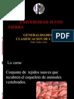 Clasificacion de Carnes