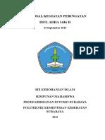 Proposal Idul Adha 2014