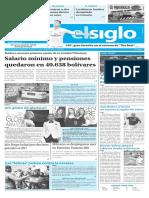 Edición Impresa Elsiglo 09-01-2017