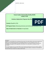 Fiji - Forest Carbon Partnership Facility Carbon Fund - Emission Reductions Program Idea Note - 04 April 2016
