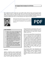 Upstream Supply Chain Analysis for Oil Palm