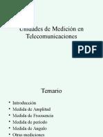 1.5 Medición en Telecomunicaciones