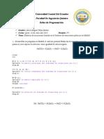 Progra Deber Sistema de Ecuaciones Quimicas