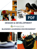 The Design and Development of Blended Learning Environment for Malaysian Form 1 Classroom