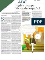 VILLARREAL, A. - Cuando el inglés usurpa la riqueza léxica del español (RAE).pdf