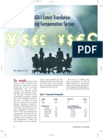 ATA - Translation and Interpreting Compensation Survey 2006 [Summary]