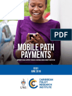 Mobile Path Payments Efficient Social Support Through a National Mobile Money Ecosystem