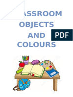 Classroom Objects - Colours Bits