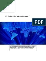 Fx Global Code May 2016 Update