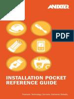 Anixter Installation Pocket Reference Guide En