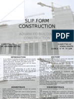 Slip Form Construction