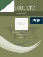 pgh co ltd report